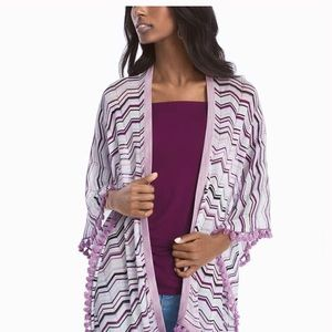 WHBM Chevron Coverup Perfect Layering Piece
